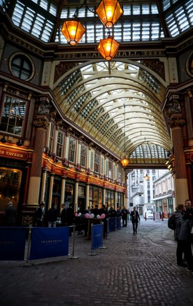 leadenhall market - a london hidden gem