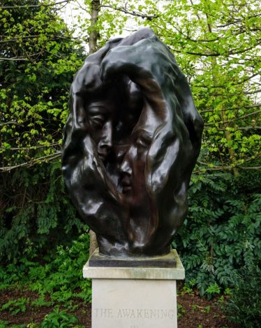 best sculptures in london are in the st johns lodge secret gardens of Regents Park