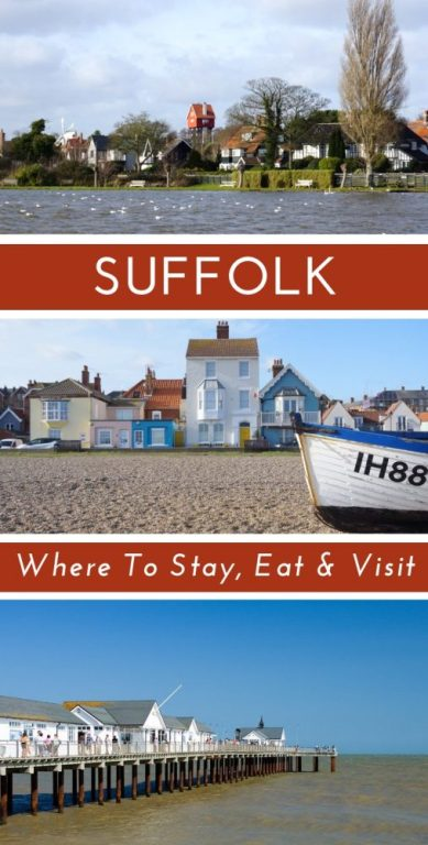Suffolk makes for the perfect short break in England, especially if you are staying in #London. If you are looking for beautiful countryside and the prettiest English villages then Suffolk would be perfect for your little mini break. Check out our guide for the best places to stay, eat and see. Suffolk should definitely be on your England Bucket List. #Suffolk #Englandbucketlist #englandtravel