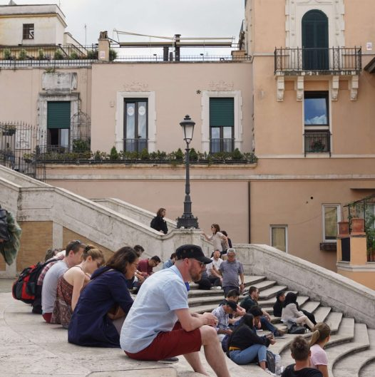 day trip to Rome = Spanish Steps