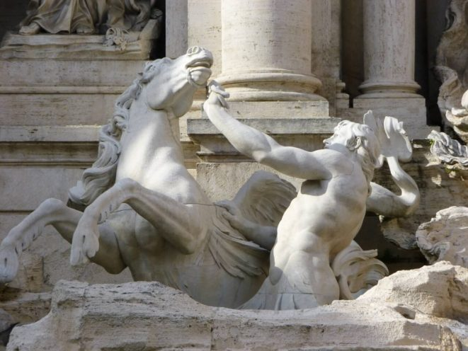 things to do in one day in Rome - see the Trevi Fountain