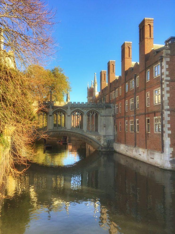 best city breaks close to London - Cambridge on the train