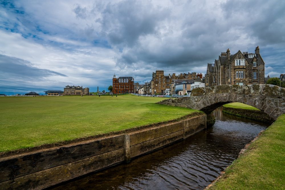 st andrews - beautiful places in the uk