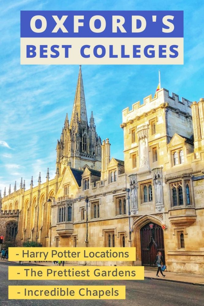 Looking for things to do in Oxford? Check out our list of the best colleges to visit in Oxford. Those with the prettiest gardens and cloisters, incredible architecture and Harry Potter filming locations. We've got you covered for your day out in #Oxford #England