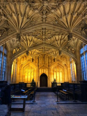 what to do in Oxford - Bodleian Library tour