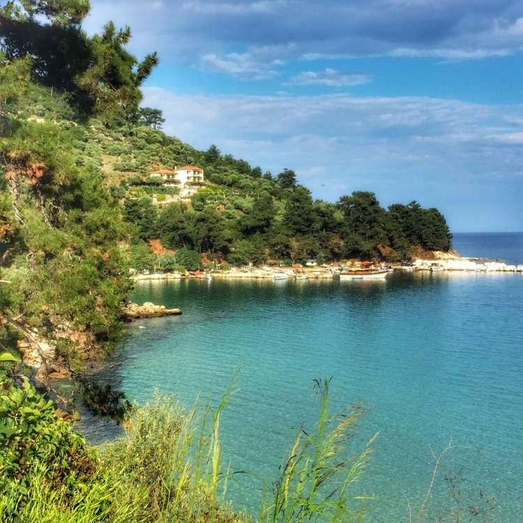 golden beach thassos greece