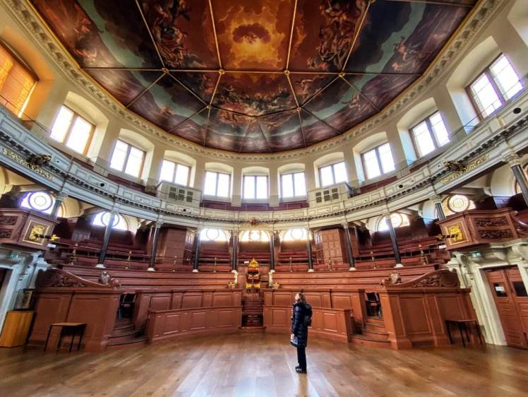 Visit the Sheldonian Theatre on your day trip to Oxford