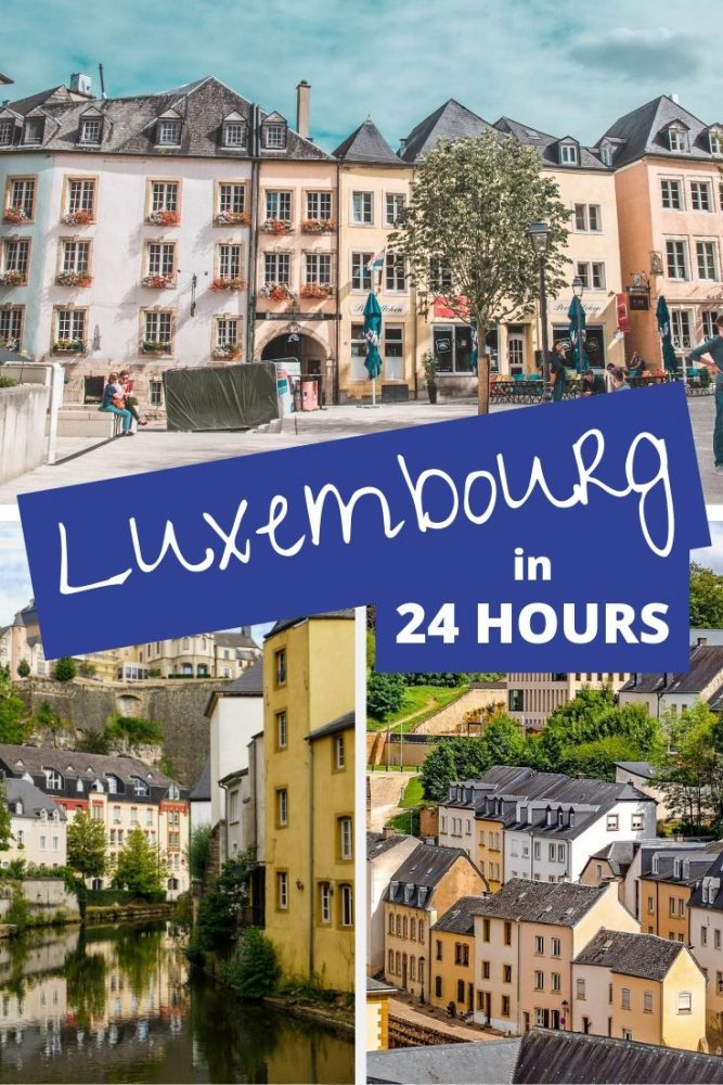 All the best things to do in Luxembourg in 24 hours. It's not a massive city so you can definitely catch most of Luxembourgs highlights in one day. #luxembourg