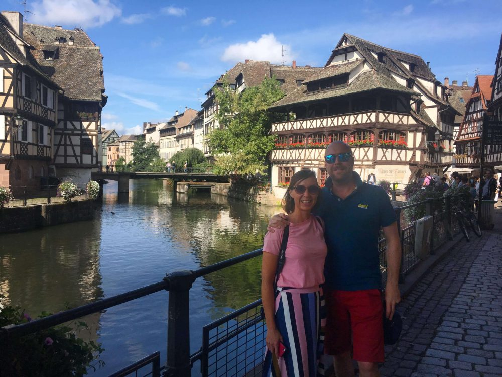 where are the pretty houses in Strasbourg? here!