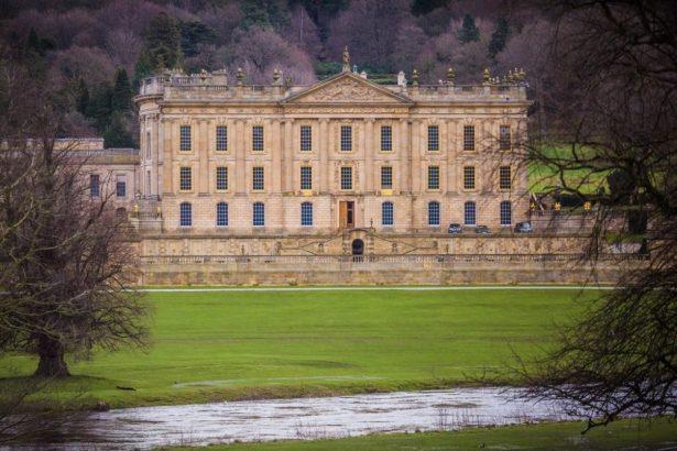 Chatsworth House in Derbyshire, Peak District