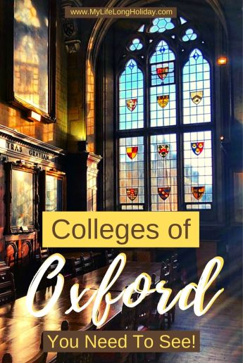 Our Top 10 favourite Oxford Colleges - the prettiest, most unique and famous university halls you don't want to miss when you visit #Oxford
