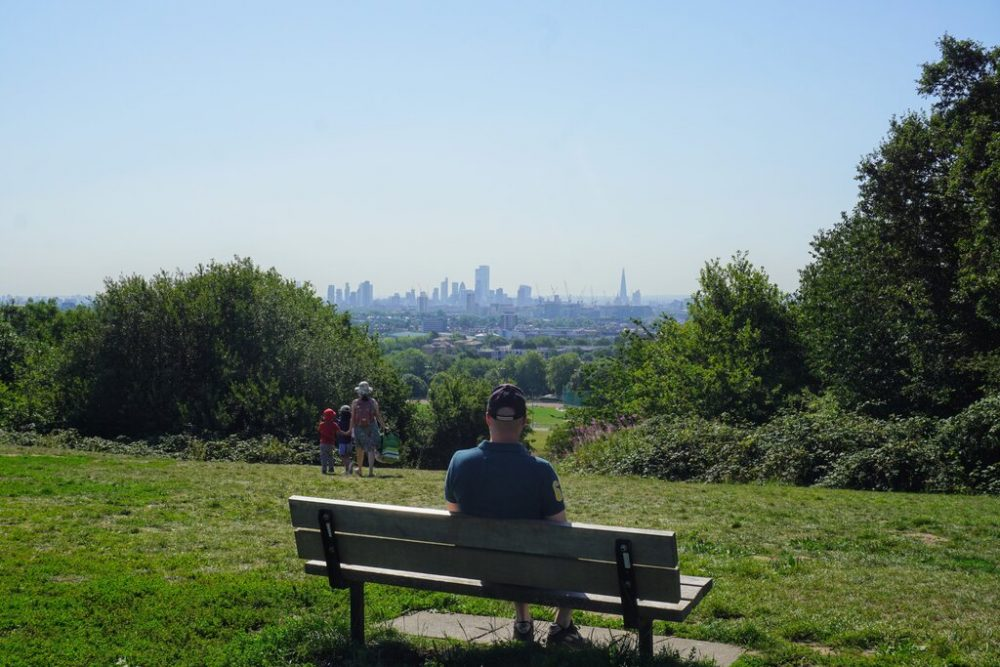 Parliament Hill - one of the best views in London from one of the nicest London neighborhoods