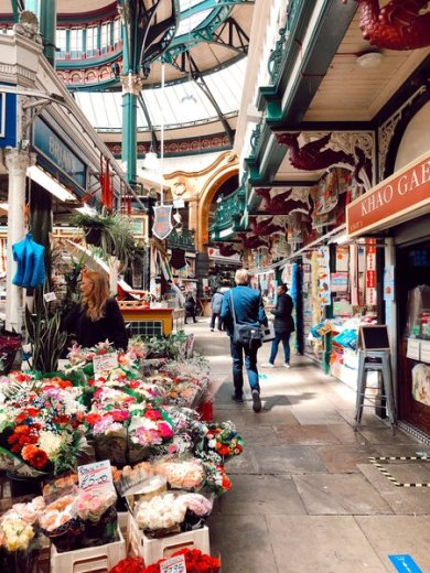 The Kirkgate Market in Leeds is one of the countries finest examples of a Victorian market hall and a 'must-see' place when you're exploring Leeds, England