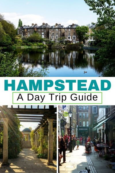 Hampstead in London is the cutest place for a day trip - check out our guide for the best parks, museums, places to eat and hidden gems. You're going to love Hampstead! #Hampstead #London
