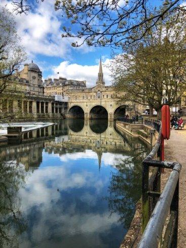 The Pulteney bridge - a Bath attraction