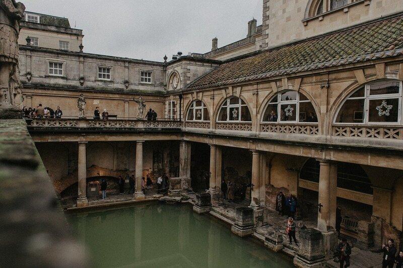 Things to do at Bath's Roman baths
