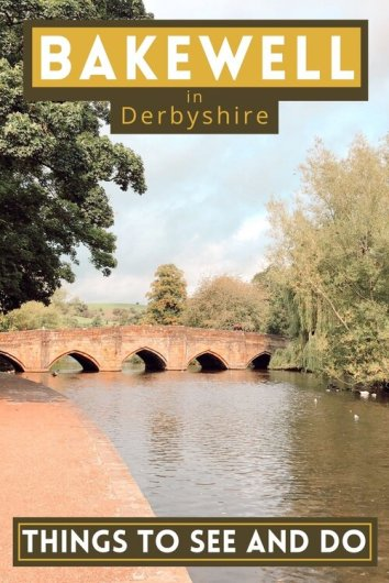 Bakewell in Derbyshire - a little gem of a town with planty of things to do and see. A must-see town in the Peak District, if only to sample a piee of Bakewell tart! #Bakewell #peakdistrict #uk