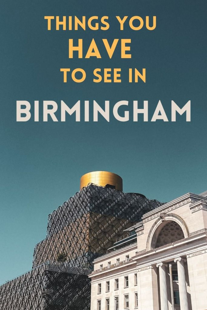 There are so many great things to do in Birmingham. Day trip ideas to make sure you don't miss Brum's best bits! #Birmingham #England #UK