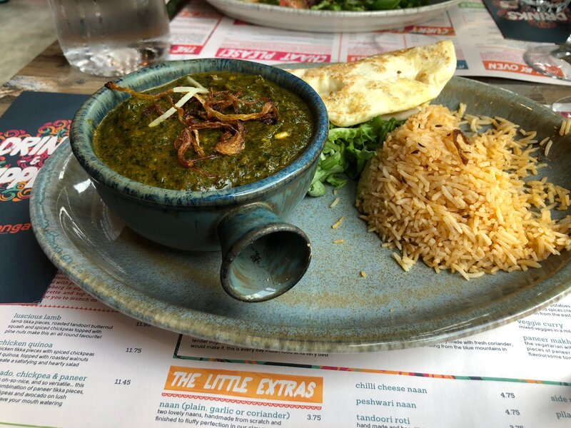 things to do in Birmingham - have a curry!