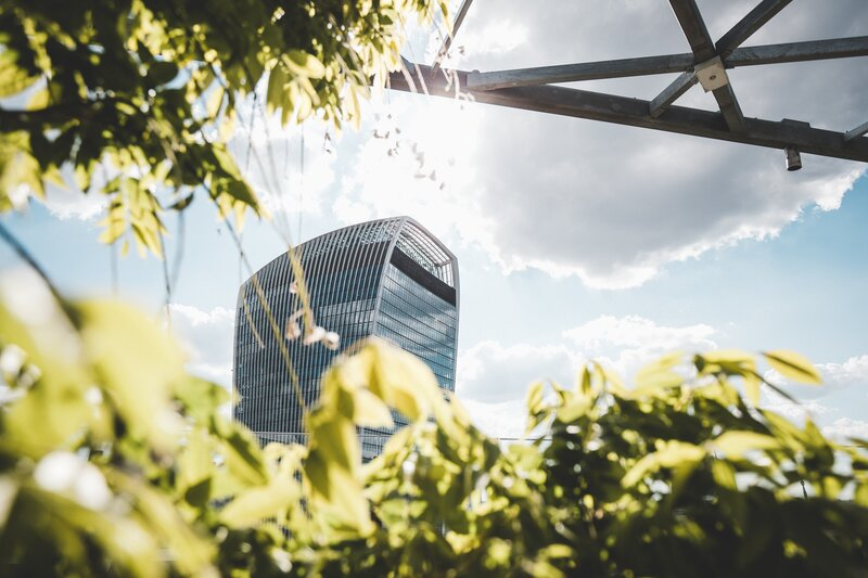 Where is the Sky Garden? At the very top of the walkietalkie, 20 Fenchurch Street, London
