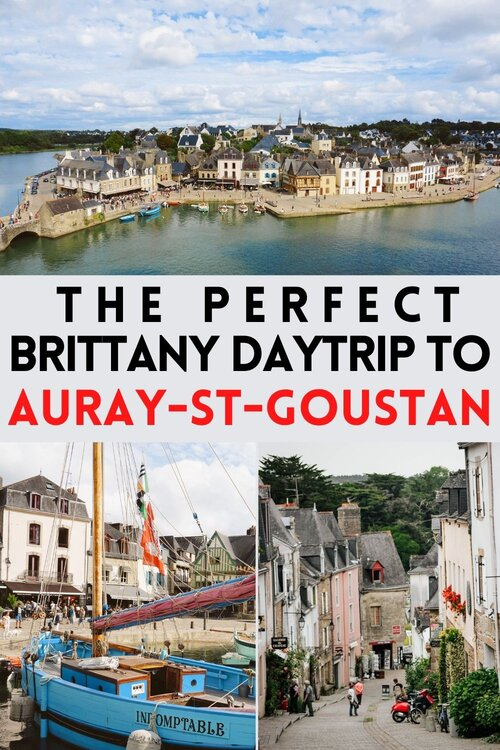 The pretty port town of Auray-Saint-Goustan... a definite daytrip destination for the Brittany bucket list. #Brittany #Auray #France