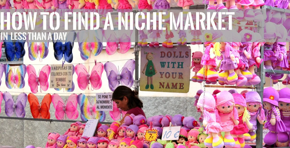 How to Find a Niche Market in a Day