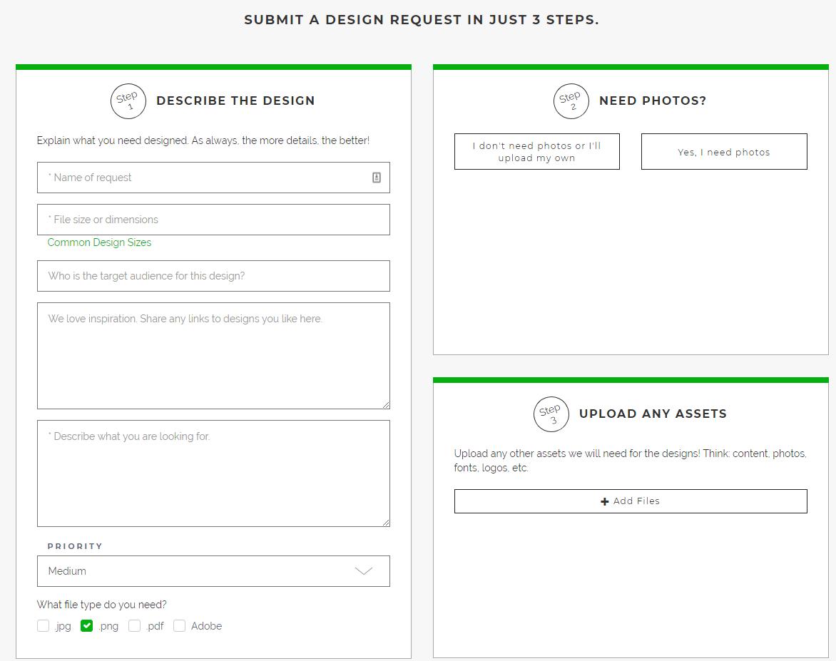 Design Pickle Design Submission Form