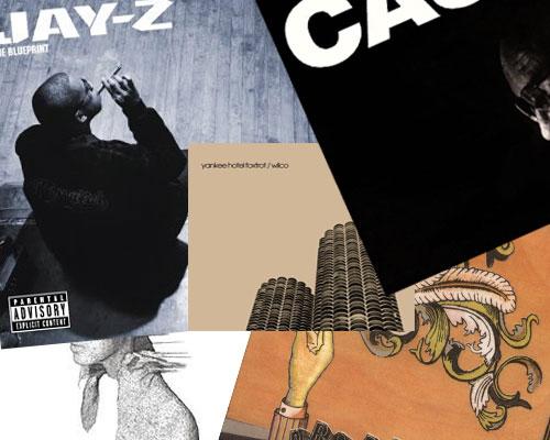 Top Pop Albums 2001-2006