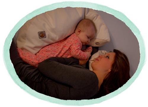 blessed nest nursing nesting pillow