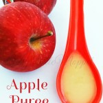Apple Puree for baby