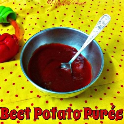 Beetroot Potato Puree
