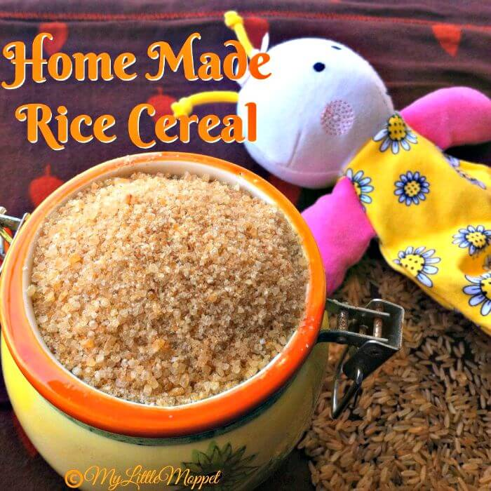 Home Made Rice Cereal for Babies (1)