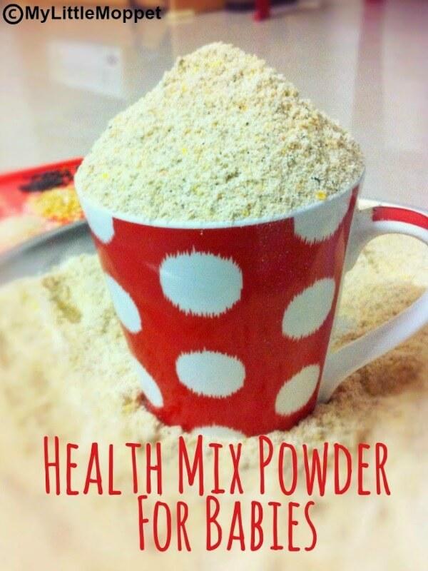 Health Mix powder for babies Home made cerelac