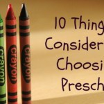 10 things to consider when choosing a preschool in India