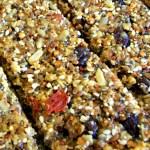 Fruit and Nut granola bar for kids