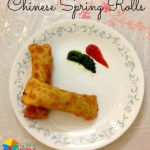 Chinese Spring Rolls Recipe for Kids