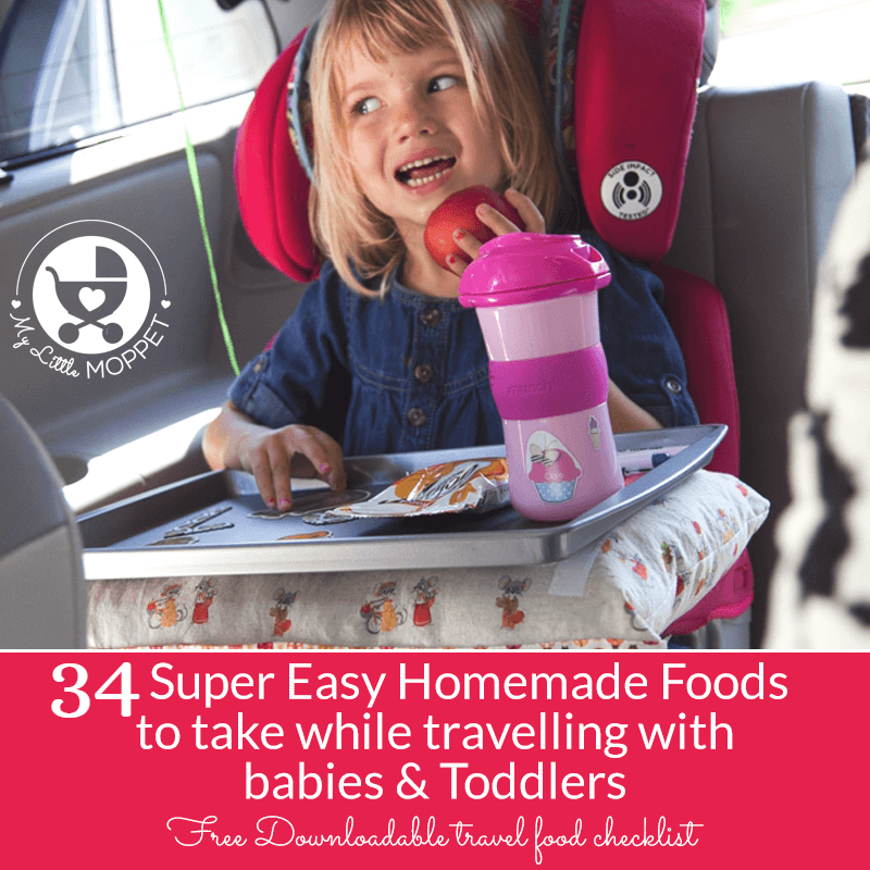 homemade travel food ideas for babies and toddlers