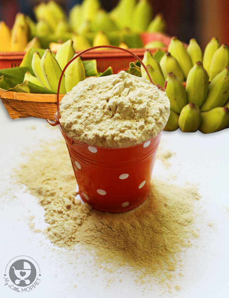 Introduce your baby to the wonderful world of bananas with this yummy and nutritious Raw Kerala Banana Powder Recipe - perfect to fill that little tummy!