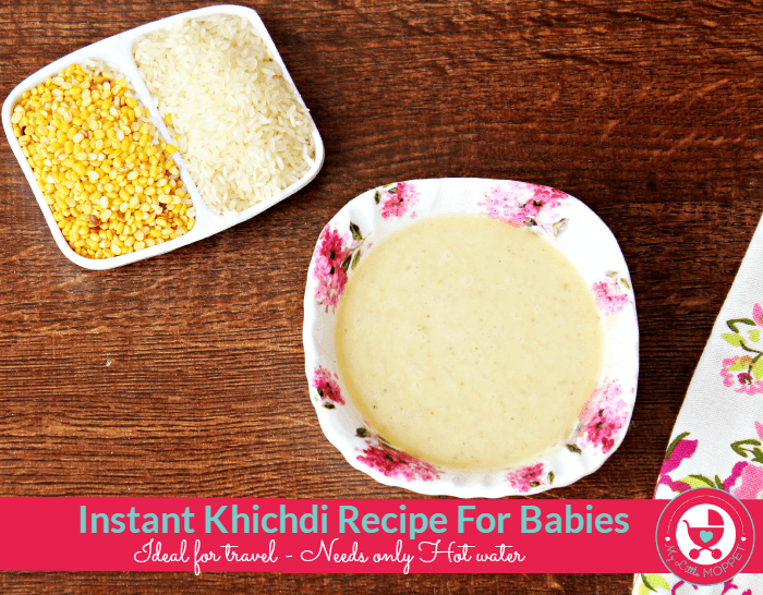 Instant Homemade rice Cereal for Babies