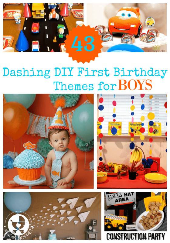 Boy First Birthday Themes