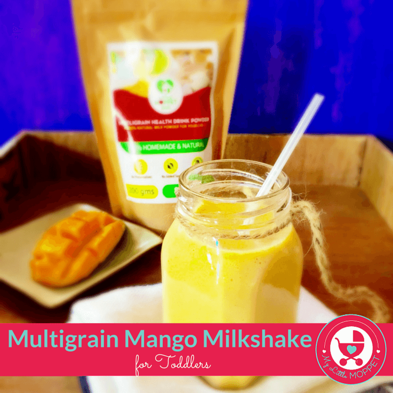 mango milkshake for toddlers