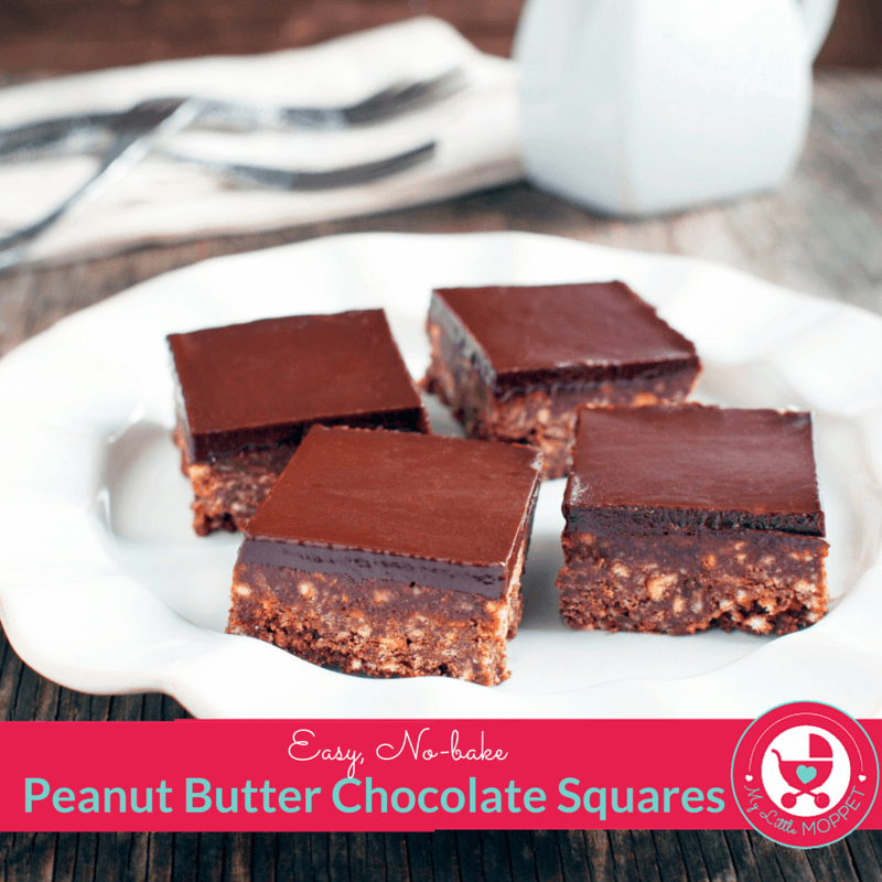 Peanut Butter Chocolate Squares