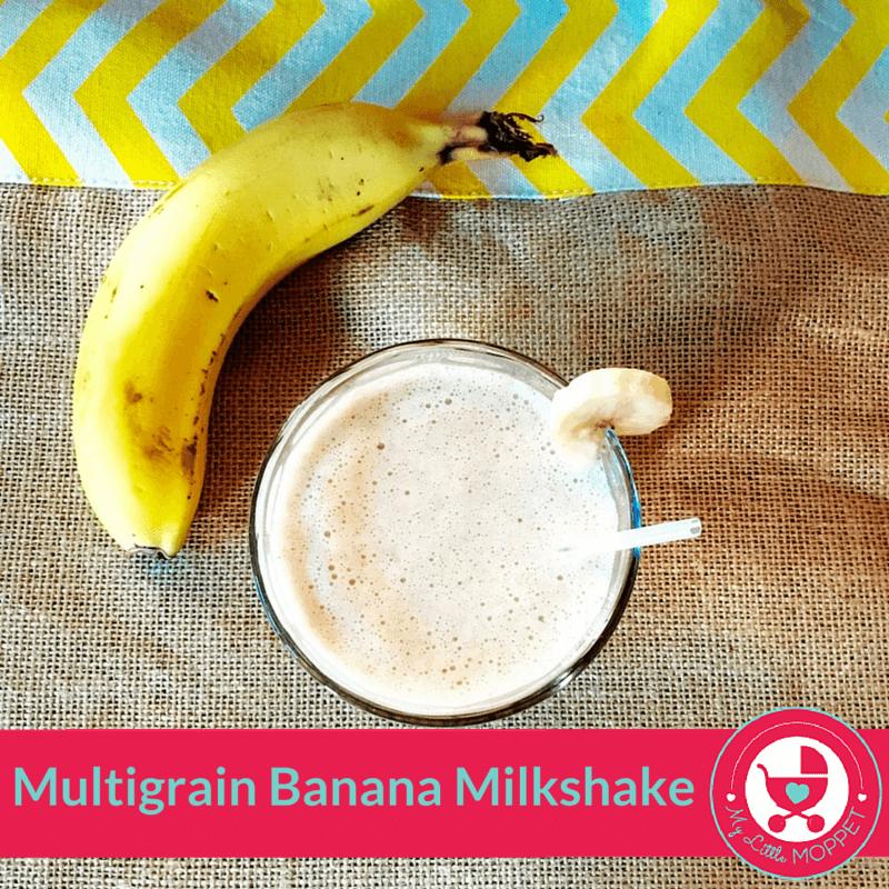 multigrain banana milkshake