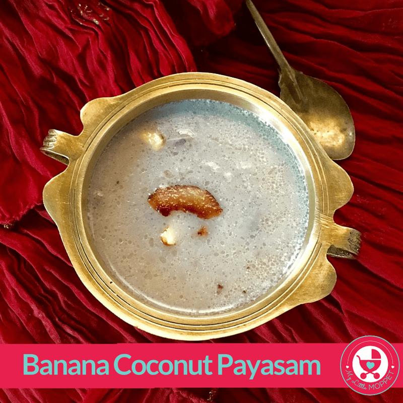 banana coconut payasam