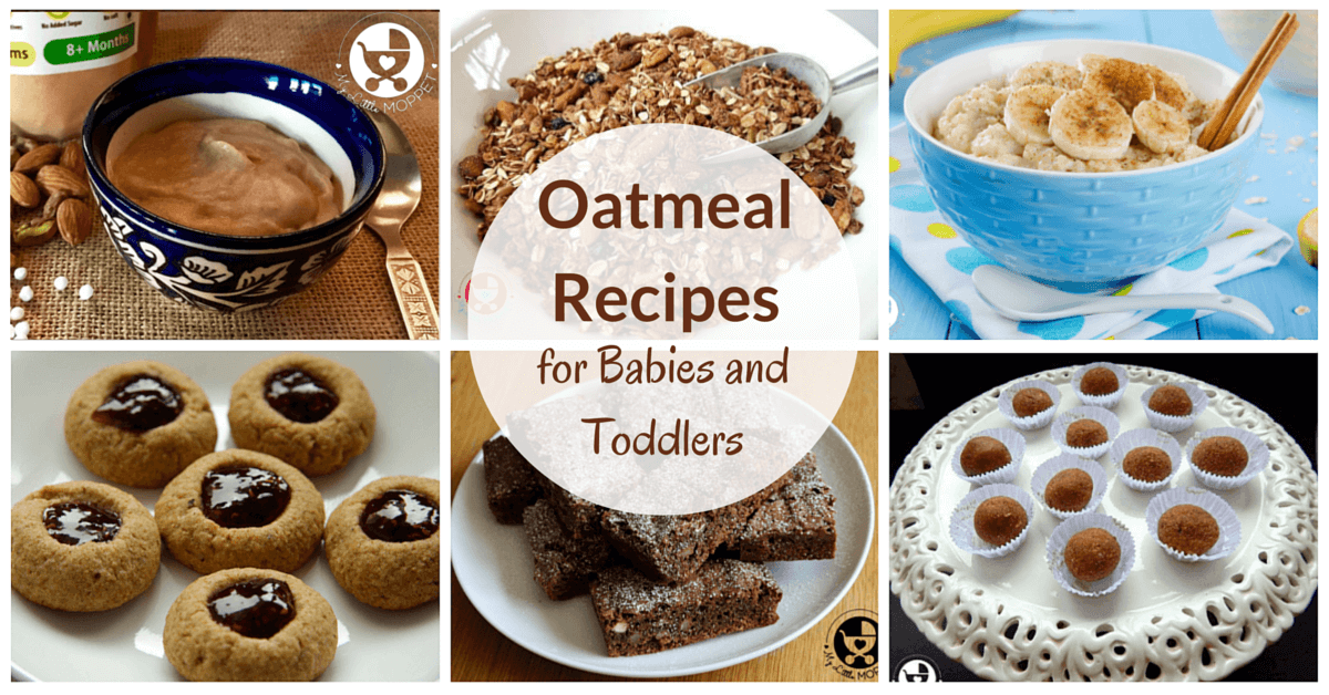 Organic Oat Recipes For Babies And Toddlers