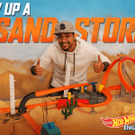 #BuildwithHotWheels and Set up a cool Hot Wheels Desert Track!