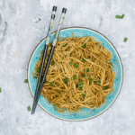 garlic soya noodles