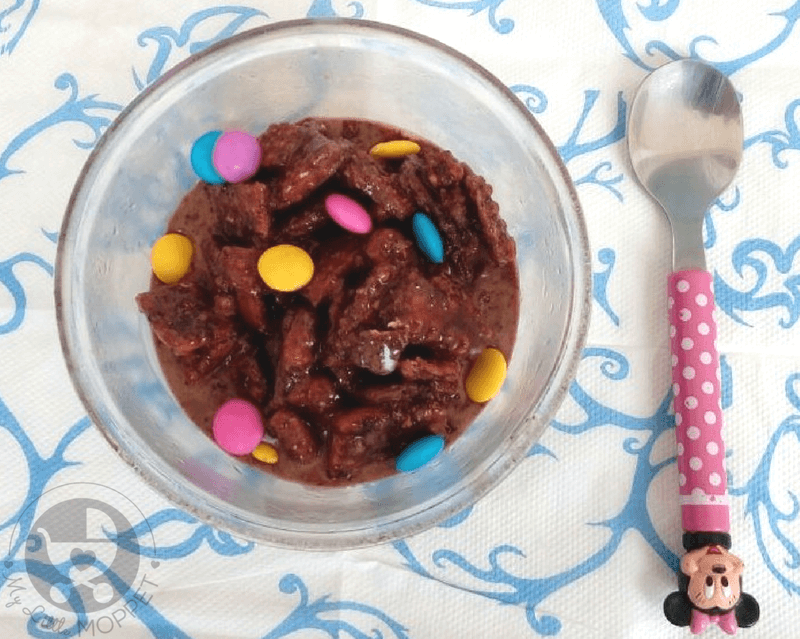 choco biscuit pudding