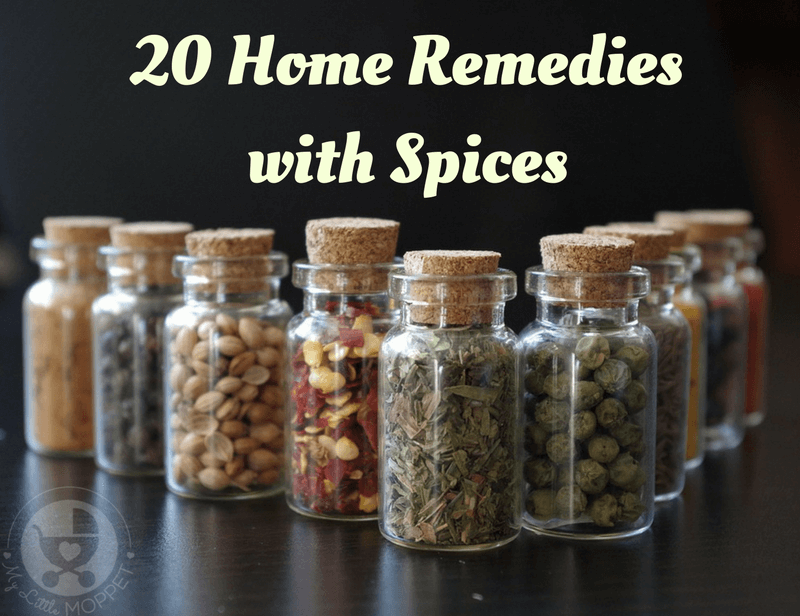 Spices don't just make our food taste better, they also have healing benefits! Check out these home remedies with spices, straight from your kitchen!