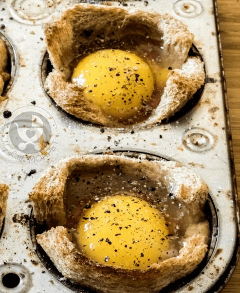 Egg Toast Cups